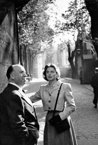 Hitchcock & Ingrid Bergman - Notorious