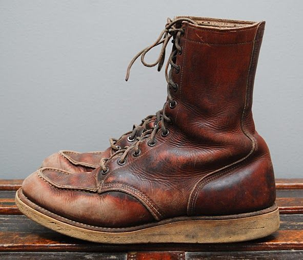 LIFE TIME GEAR: BOOT OF THE DAY | #189 | AWESOME VINTAGE RED WING BOOT 877 IRISH SETTER ON EBAY