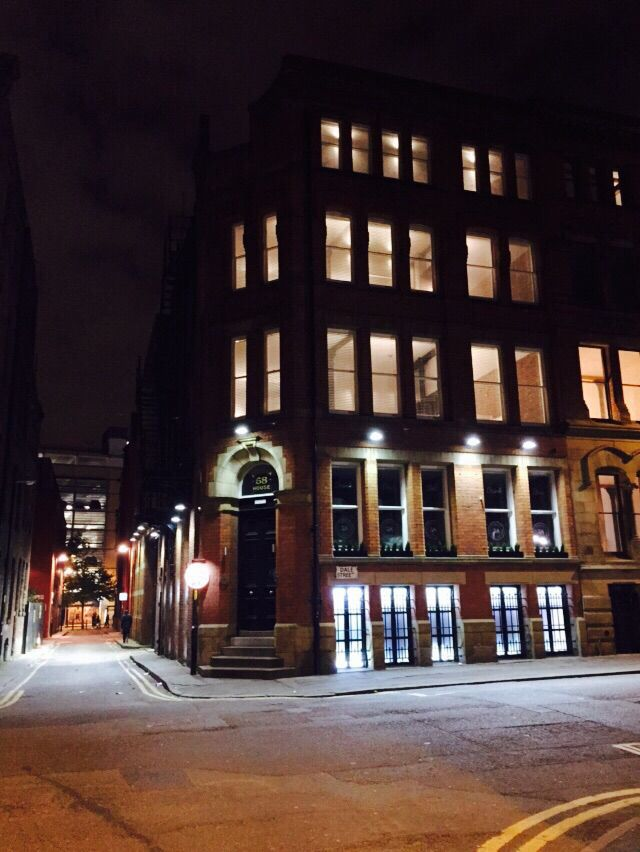 Eleska House on Dale Street night view