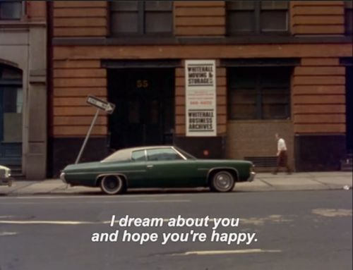 I dream about you and hope you are happy. #cinema