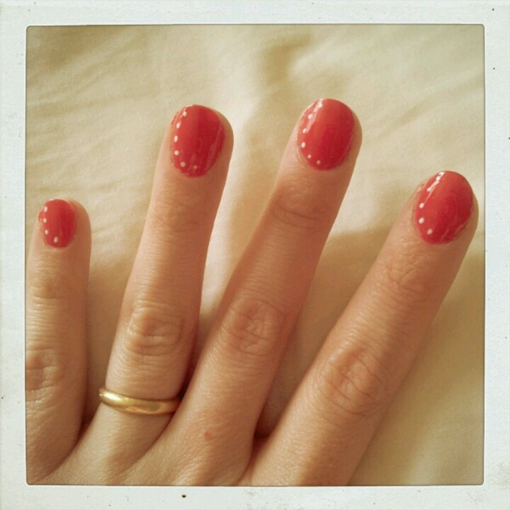 Mis lindas uñas pintadas