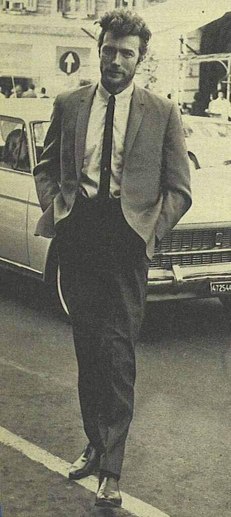 Clint Eastwood- possibly the most handsome man who ever walked the earth!
