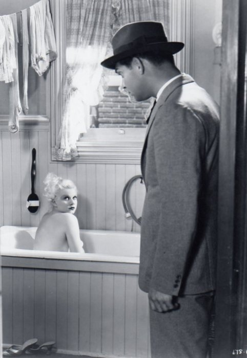 Jean Harlow and Clark Gable, Hold Your Man.