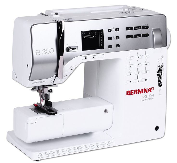BERNINA 330 inkl. Kniehebel gratis, Fashion Limited Edition: Amazon.de: Küche & Haushalt