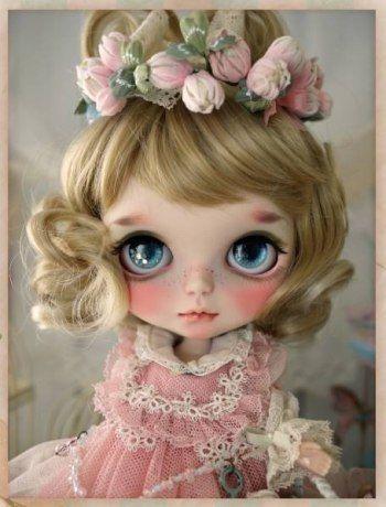 * Milk Tea * Custom Blythe Buy her here: #blythe #blythedolls #kawaii #cute…