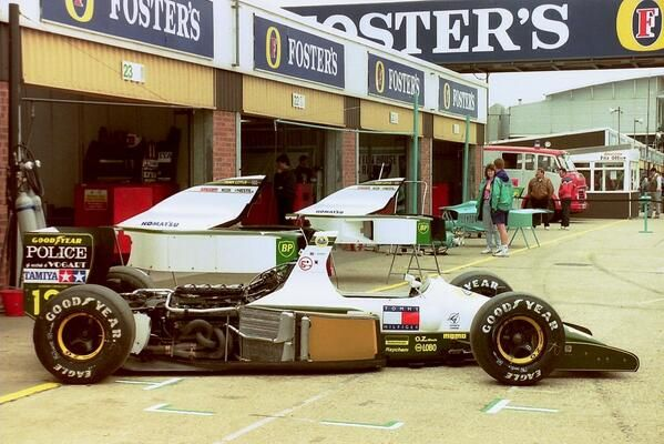 Lotus-Judd V8, 102D. British GP, Silverstone, 1991.