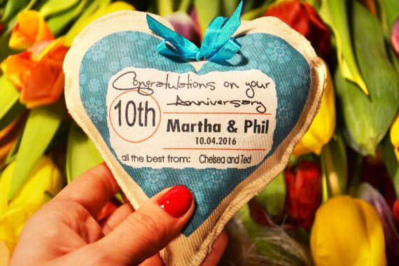 Personalized anniversary gift personalised by Tulito on Etsy