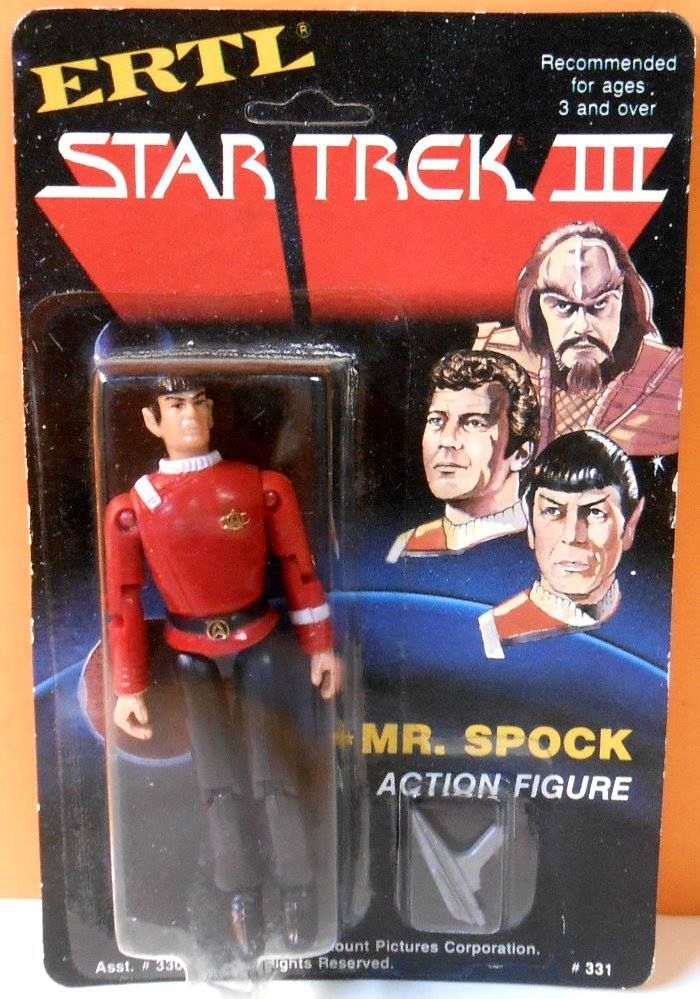 1984 Mr. Spock (Star Trek III) action figure by ERTL