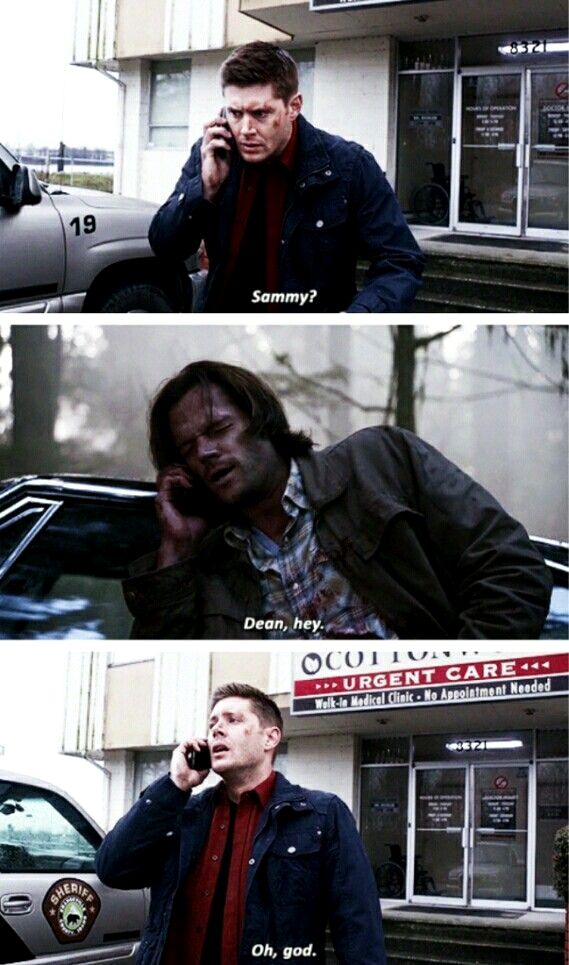 When dean thought sam was dead