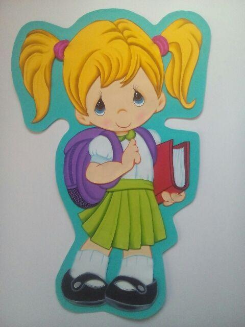 Regreso a clases manualidades en fomi dibujo de ni os for Lecciones de castorama de bricolaje