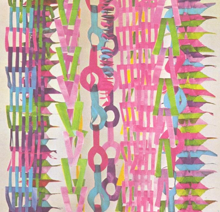 ComJeitoeArte: Grinaldas em papel de seda