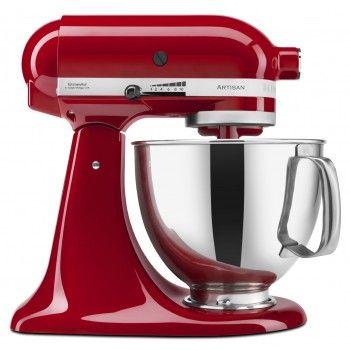 KitchenAid 5 Quart Artisan Stand Mixer - Empire Red | @giftryapp
