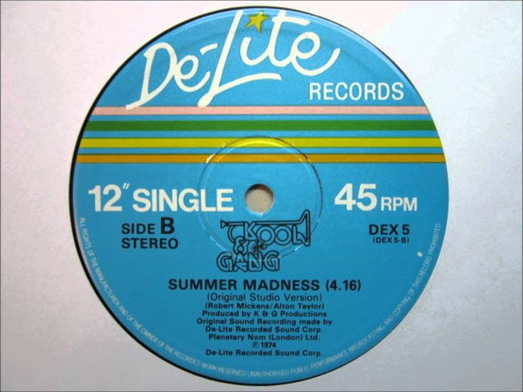 Kool & The Gang - Summer Madness (Original Studio Version).wmv