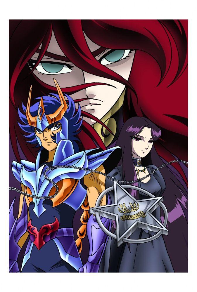 Tags: Anime, Saint Seiya, Phoenix Ikki, Pandora (Saint Seiya), Hades (Saint Seiya), Andromeda Shun, Specters