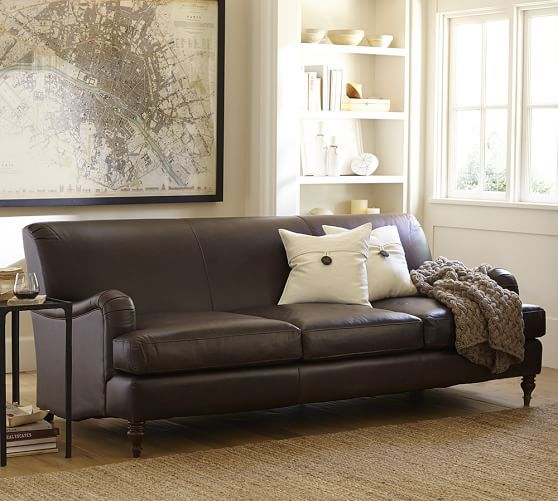 Pottery Barn Furniture Usa: LEATHER FURNITURE On Pinterest