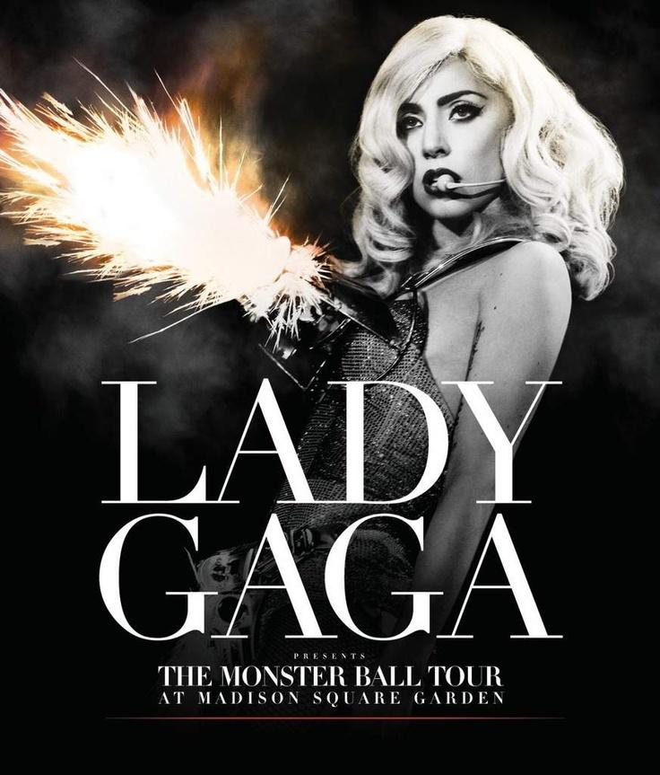 "Lady Gaga - Live ""the monster ball tour"" en dvd/blu-ray"
