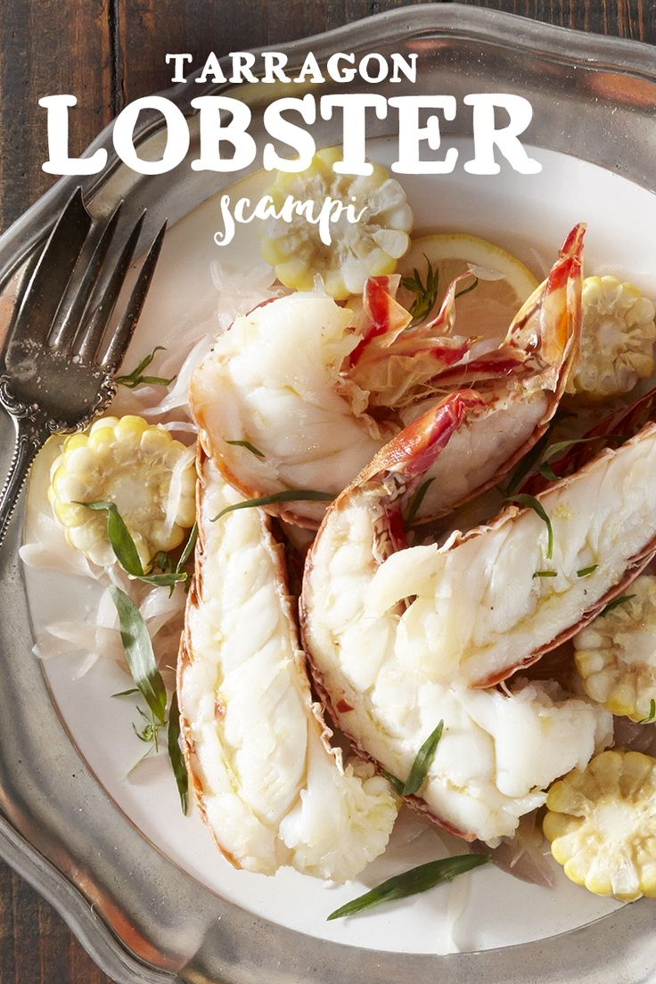 Tarragon and Lemon Lobster Scampi | Recipe | Scampi, Lemon and Shellfish recipes