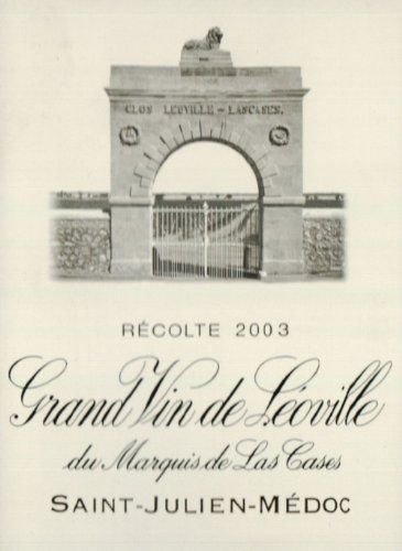 2003 Leoville Las Cases Bordeaux 750 mL