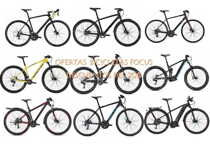 Ofertas bicicletas Focus con descuentos de hasta el 20% modelos 2017