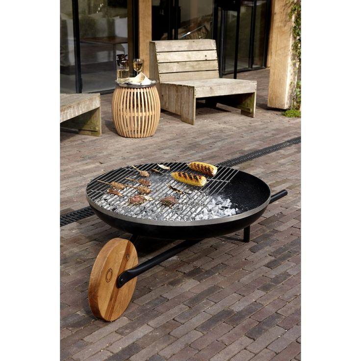 barrow grillen und feuer feuerschale mit grill feuer. Black Bedroom Furniture Sets. Home Design Ideas
