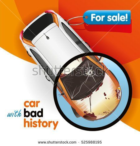 The car new in appearance has bad history
