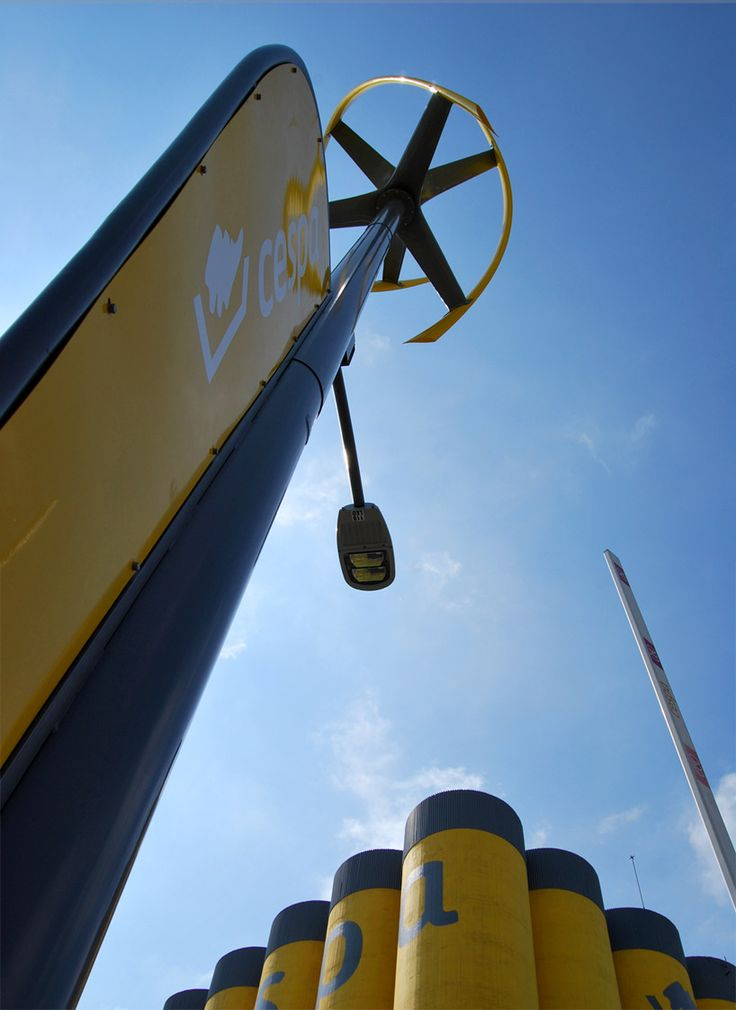 world's first wind powered electric charging station
