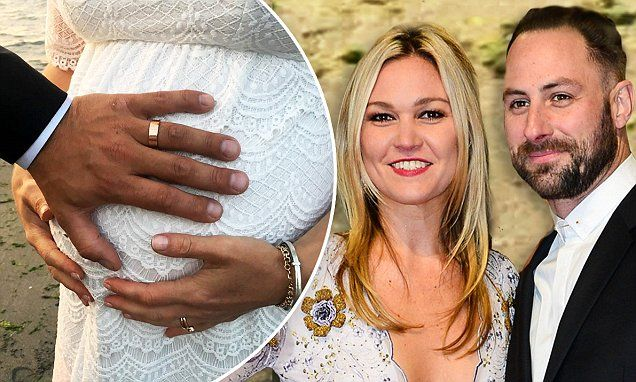 Julia Stiles marries fiance Preston J Cook on the beach in Seattle