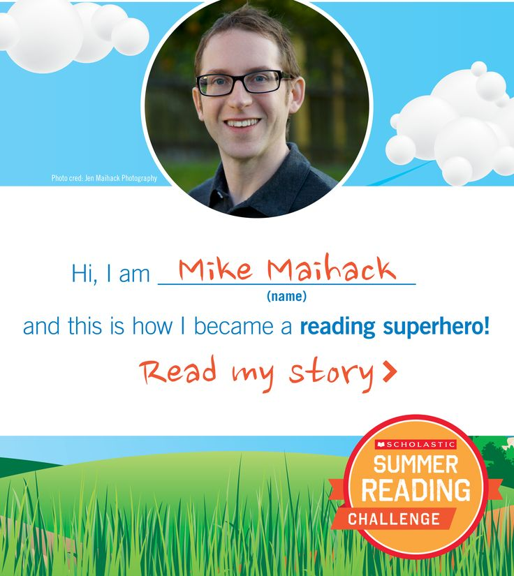 Author Mike Maihack is a Summer Reading Challenge superhero! He tells us why. #summerreading #authors