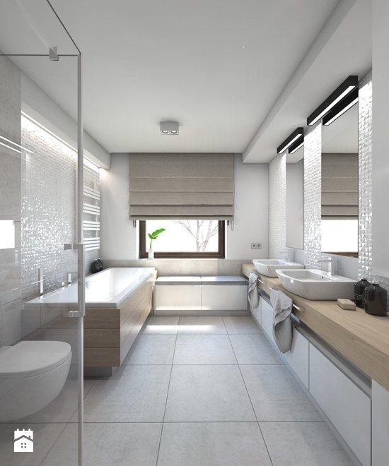 Łazienka styl Nowoczesny - zdjęcie od BAGUA Pracownia Architektury Wnętrz