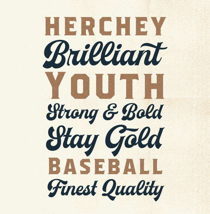Herchey Font on Behance