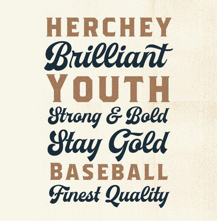 Herchey Font on Behance