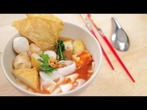 90 best hot thai kitchen u tube images on pinterest asian food yen ta fo pink noodle soup hot thai kitchen youtube forumfinder Choice Image