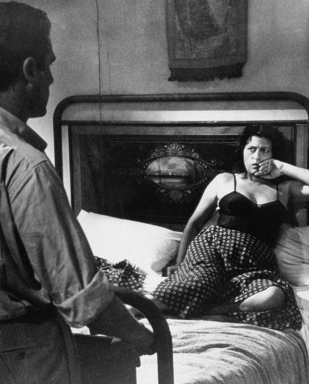 Anna Magnani in Bellissima,diretto da Luchino Visconti - 1951/kalid paola