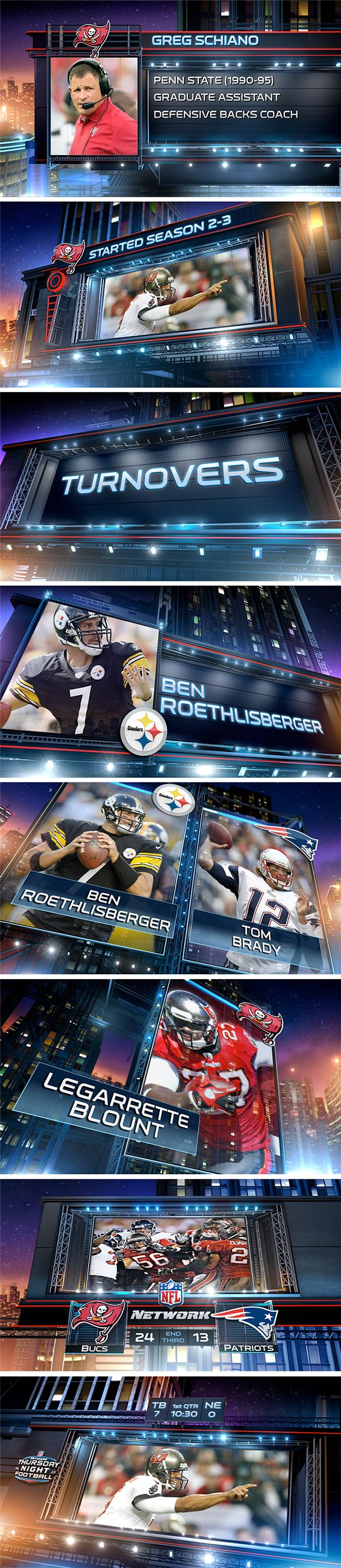 NFL / Thursday Night Football Inshow on Behance