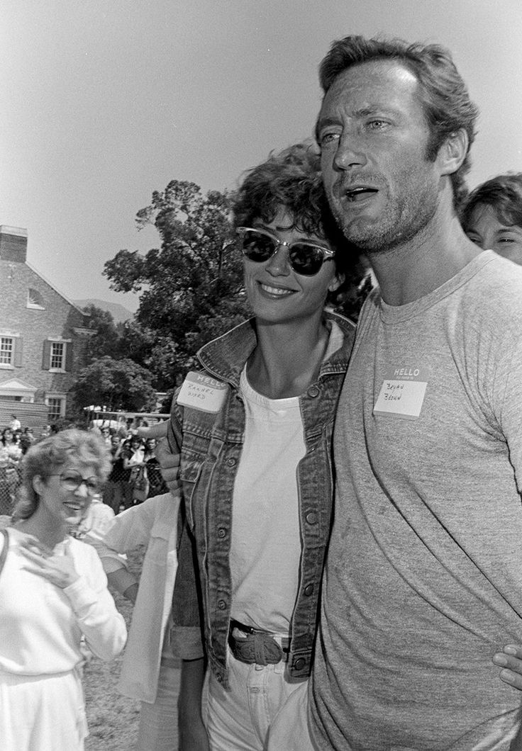 Rachel Ward and Bryan Brown