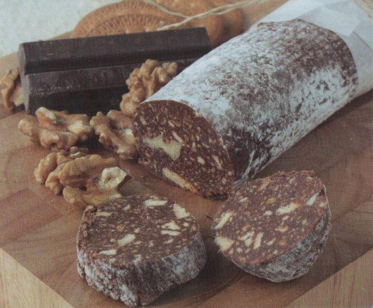 SALCHICHON DE CHOCOLATE