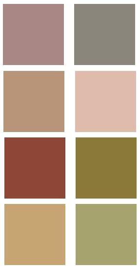 Victorian Color Palette | Vintage Colors of The Riegelman Home