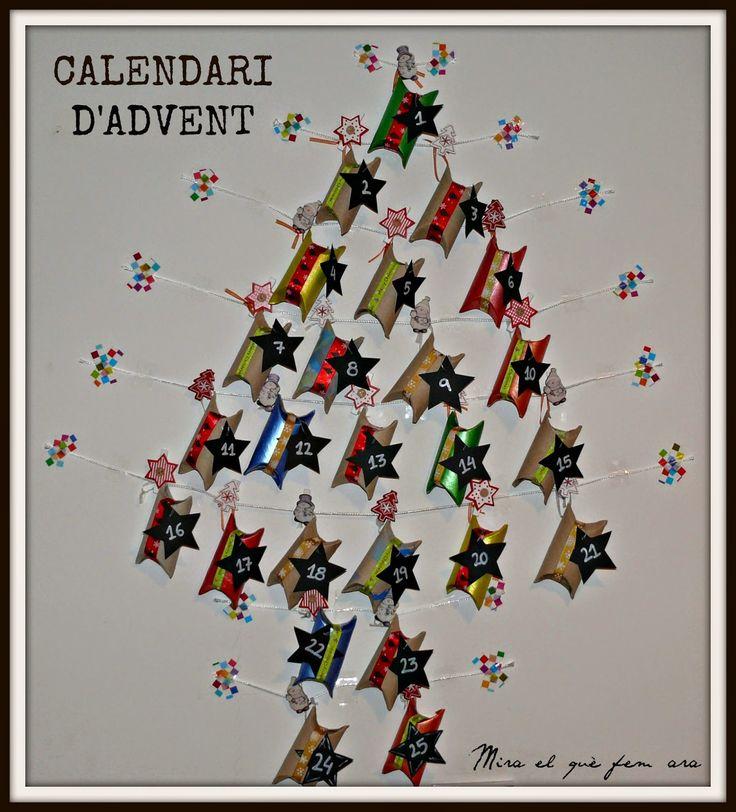 Calendari d'advent / Calendario de adviento