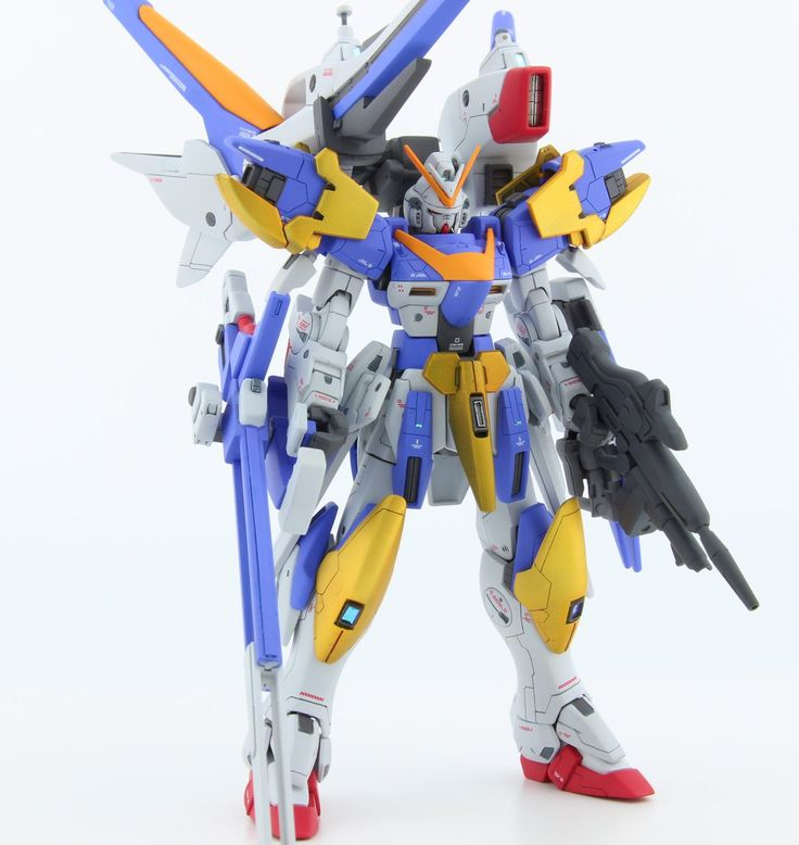 GUNDAM GUY: HG 1/144 V2 Gundam Assault Buster - Customized Build