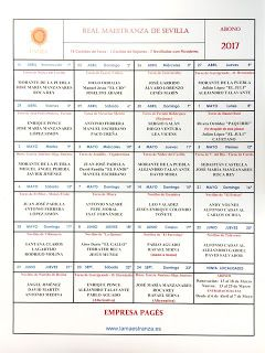 Bullfighting tickets. Tickets for bullfights in Madrid and Sevilla: Sevilla Bullfighting 2017 season schedule
