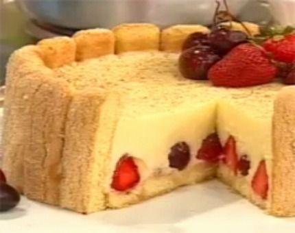 Delicia frutal!!! Bavarois de peras y frutos rojos