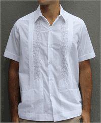 Beach Wedding Attire for Groomsmen : Wedding Shirts for Men : DebraTorres.com