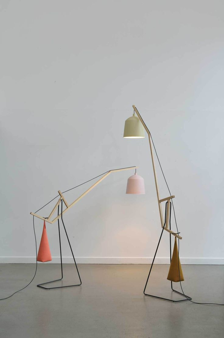 A Floor Lamp by Aust Amelung