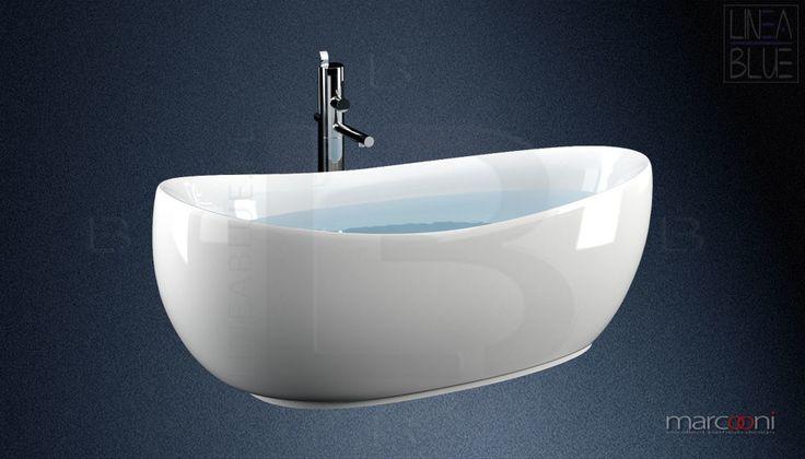 Wanna wolnostojąca MARCOONI VSA-39 | Wanny wolnostojące | LINEABLUE Ceramika Sanitarna | Wanny wolnostojące, umywalki, misy wc, panele prysznicowe, kabiny, brodziki