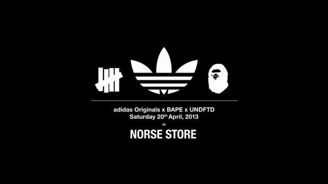 Norse Store - Adidas x Bape x Undftd sneaker release 2013 by Norse Store. A short video featuring our lovely and happy customers at the Adidas x Bape x Undftd sneaker release on April 20th 2013 at Norse Projects store in Copenhagen, Denmark