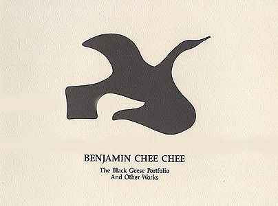 Benjamin Chee Chee - The Black Geese Portfolio and Other Works