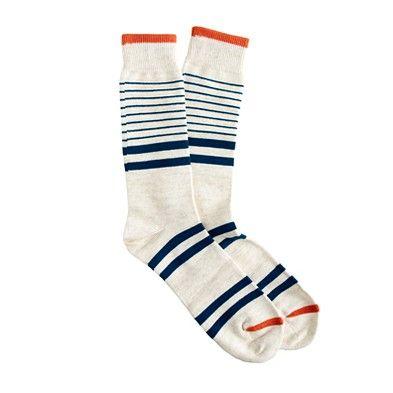 retro stripey socks
