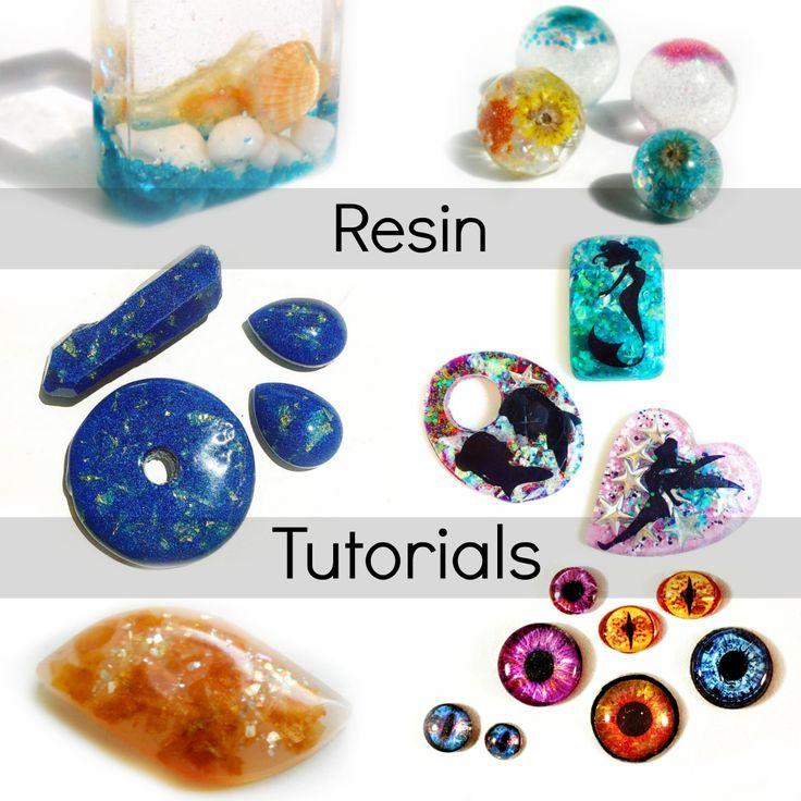 Tutorial resina la raccolta completa resina gioielli for Resina fai da te