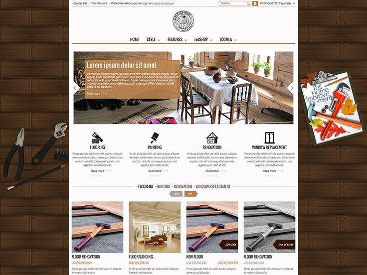 Carpentry Website Template. 25 professional carpenter invoice ...