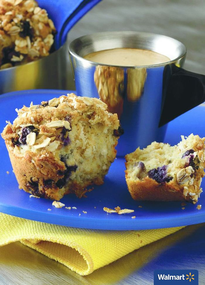 Lemon Blueberry Oatmeal Muffins | Walmart - This Lemon Blueberry Oatmeal Muffin recipe is the perfect treat to always have on hand. Delicious for breakfast, as a snack, or dessert—the whole family will love this moist and sweet treat.